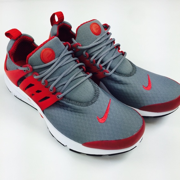 new arrival b7554 148da Nike Presto Essential Gray Red running shoes men 9 NWT